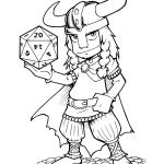 Mascote Viking réalisé par Tod Yoann