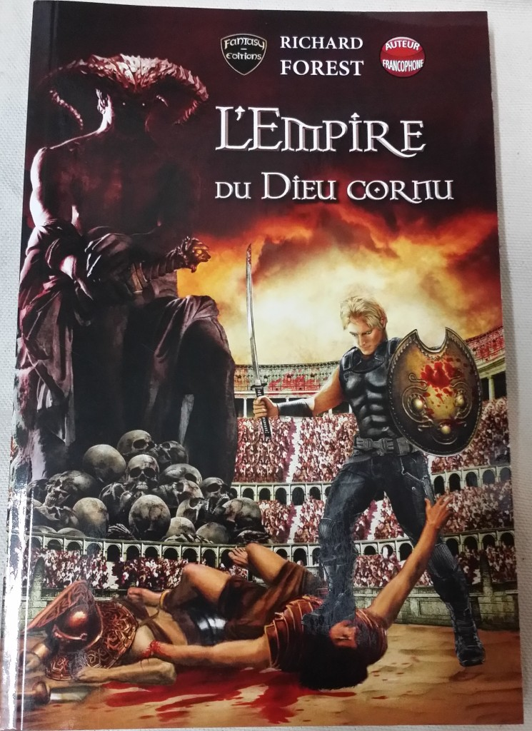 empire du dieu cornu couverture