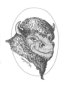 Bison ailé