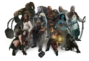 Races et Personnages Broken World - Premier univers pour Pathfinder JDR