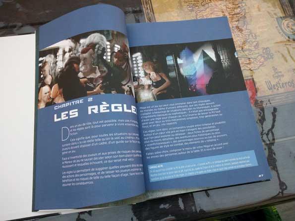MEGA 5e Paradigme - un jeu de rôle de Didier Guiserix
